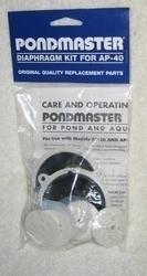 Pondmaster Air Pump Diaphragm Kit Rebuilding kit