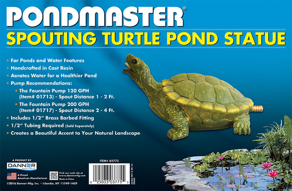 SPOUTING POND TURTLE STATUE | Fountains & Spitters