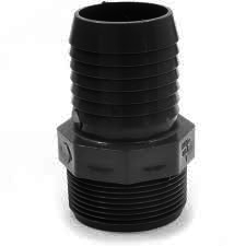 Adapters: 2 inch MPT x BARB | Plumbing