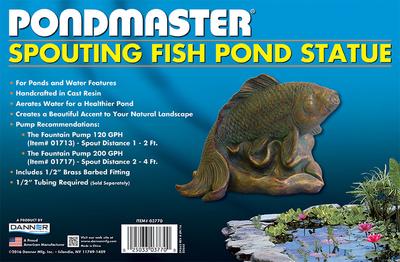 Image SPOUTING POND FISH STATUE