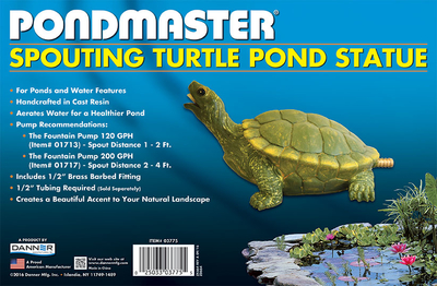 Image SPOUTING POND TURTLE STATUE