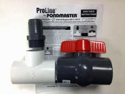 Image Valved Bypass Kit for Pondmaster Filters