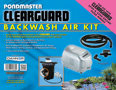 Image Clearguard Backwash Air Kit (Small)