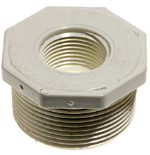 Image 2 inch male by 1-1/2 inch Female Fitting
